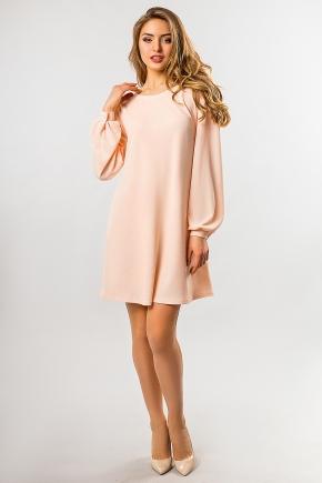 peach-dress-shoulder-straps