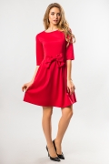 red-dress-with-battle