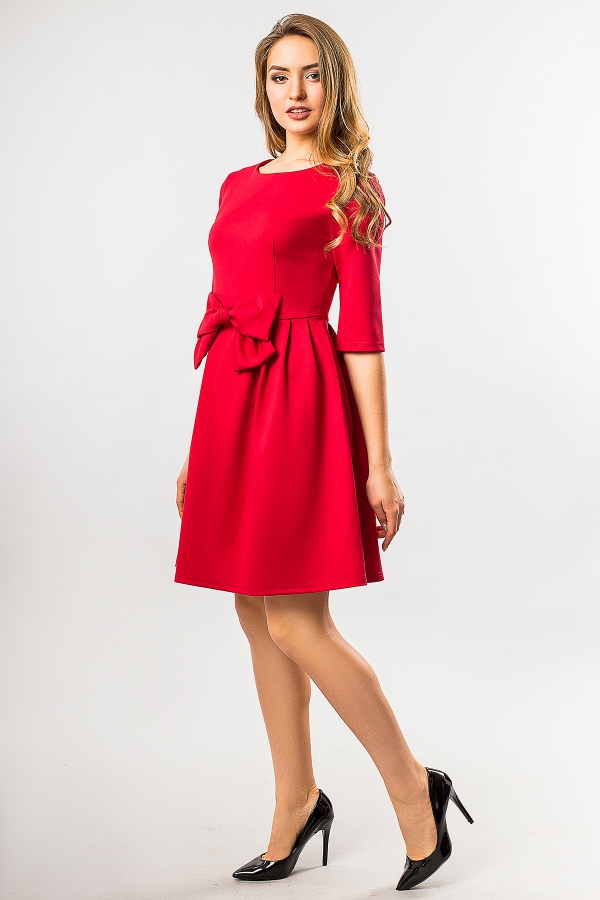 red-dress-with-battle-half