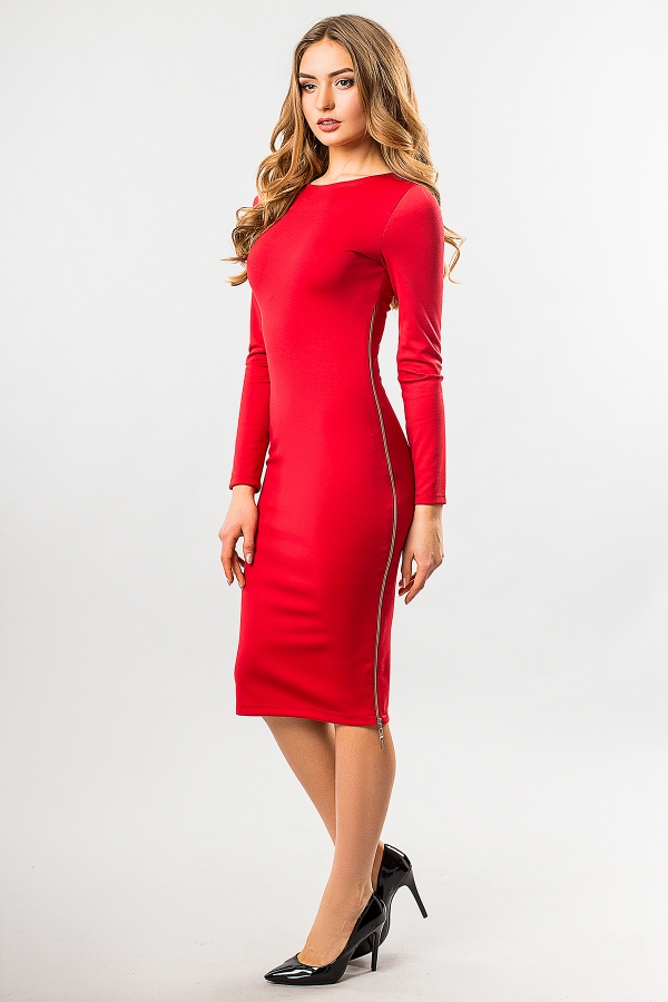 red-dress-with-side-zip-full