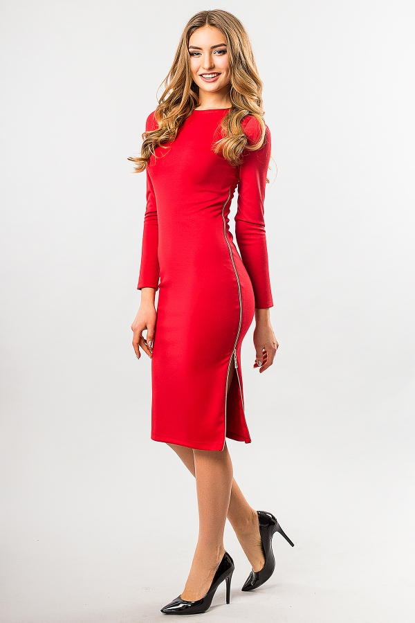 red-dress-with-side-zip-half