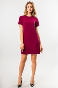 straight-burgundy-dress