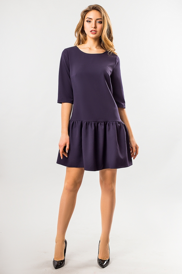 warm-dress-with-frill-on-the-bottom