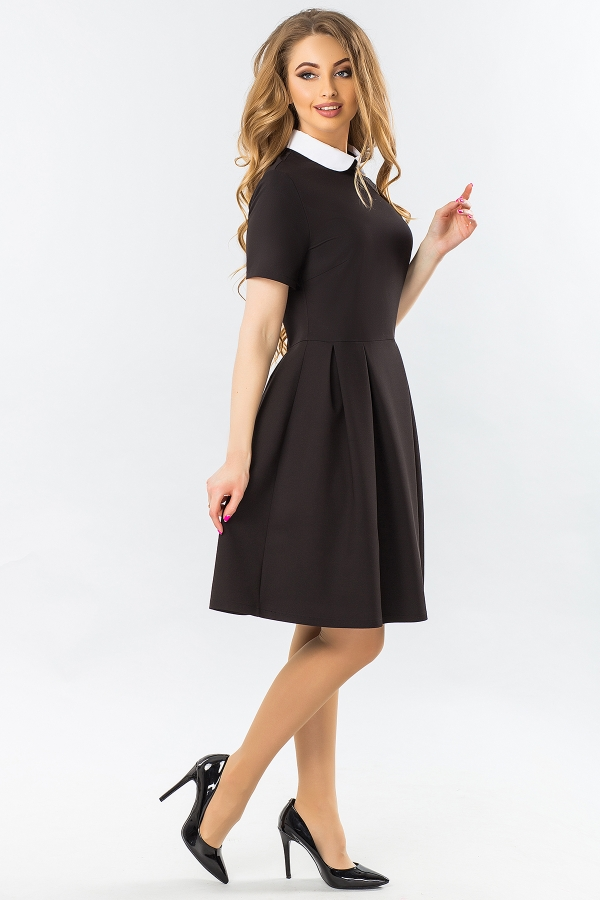 black-dress-with-white-round-collar-and-warehouses-full
