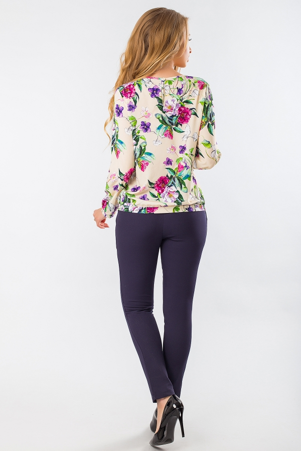 blouse-purple-flowers-beige-back