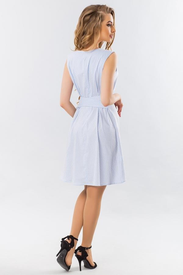 blue-striped-dress-belt-back