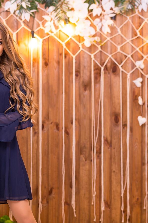 dark-blue-chiffon-dress-with-2-ruffles-full2