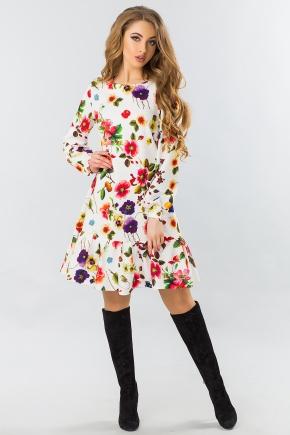 dress-long-sleeves-frill-flowers-white