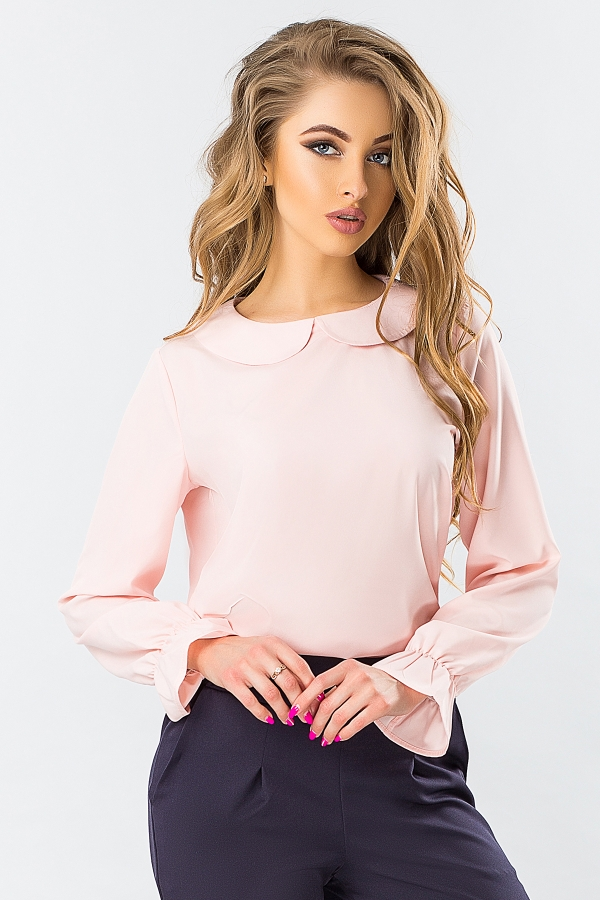 pink-blouse-round-collar