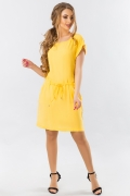 yellow-summer-dress-with-a-cuff