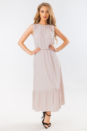 beige-dot-dress-long-skirt