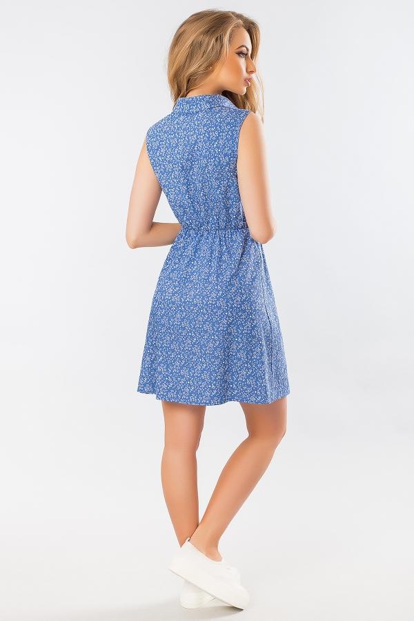 blue-dress-shirt-pattern-back