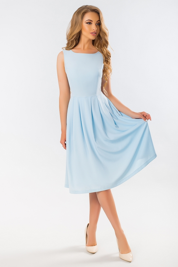 blue-dress-with-angular-relief-full