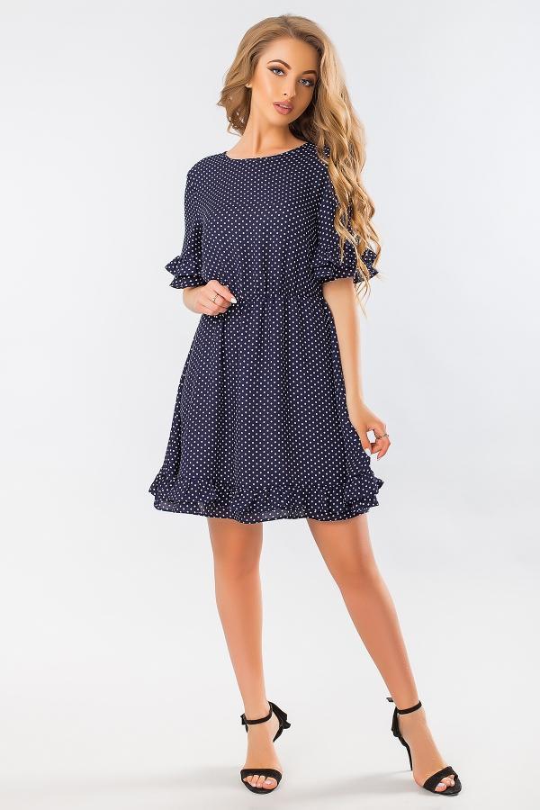 chiffon-dress-with-polka-dots