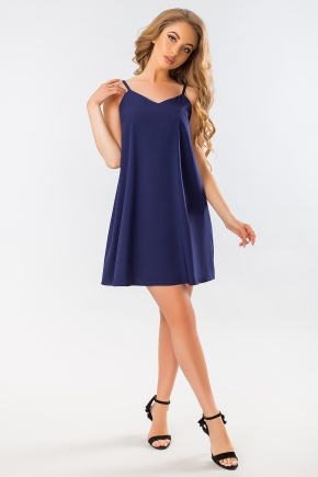 dark-blue-dress-bow-back