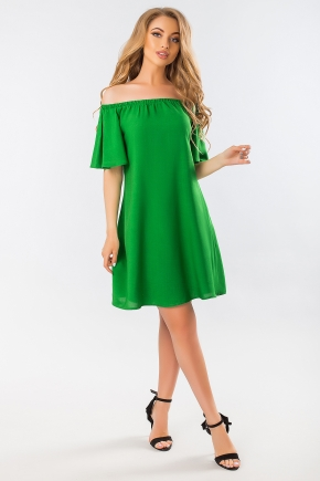 green-dress-with-open-shoulders