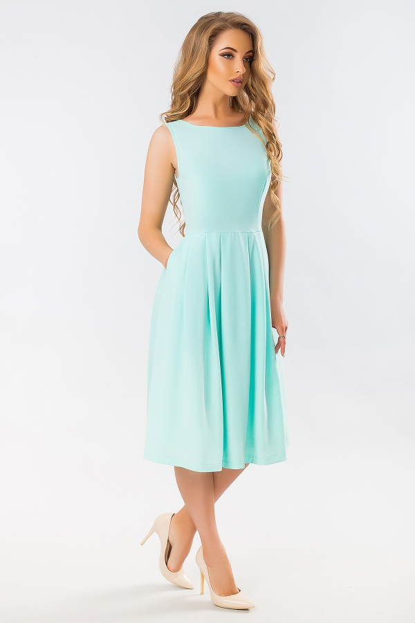 mint-dress-with-angular-relief-full