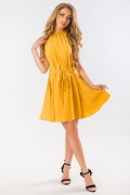 mustard-dress-with-lacing