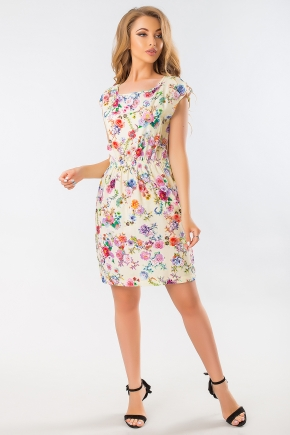 summer-dress-with-roses