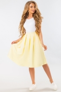 yellow-midi-skirt-with-pockets