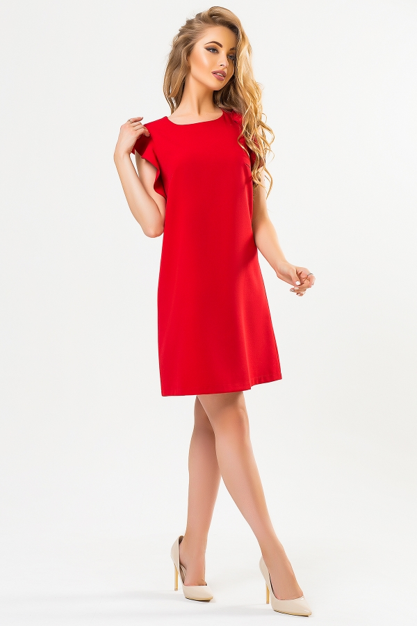 red-dress-with-flounces-shoulders-full