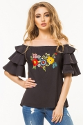 black-blouse-flounces-embroidery