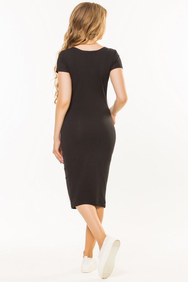 black-dress-t-shirt-beads-back