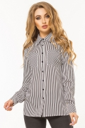 black-white-striped-shirt