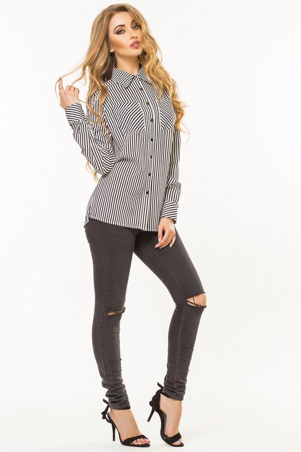 black-white-striped-shirt-half