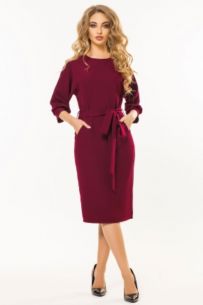 bordo-dress-belt-one-piece-sleeve