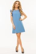 gray-blue-dress-flounces-shoulders