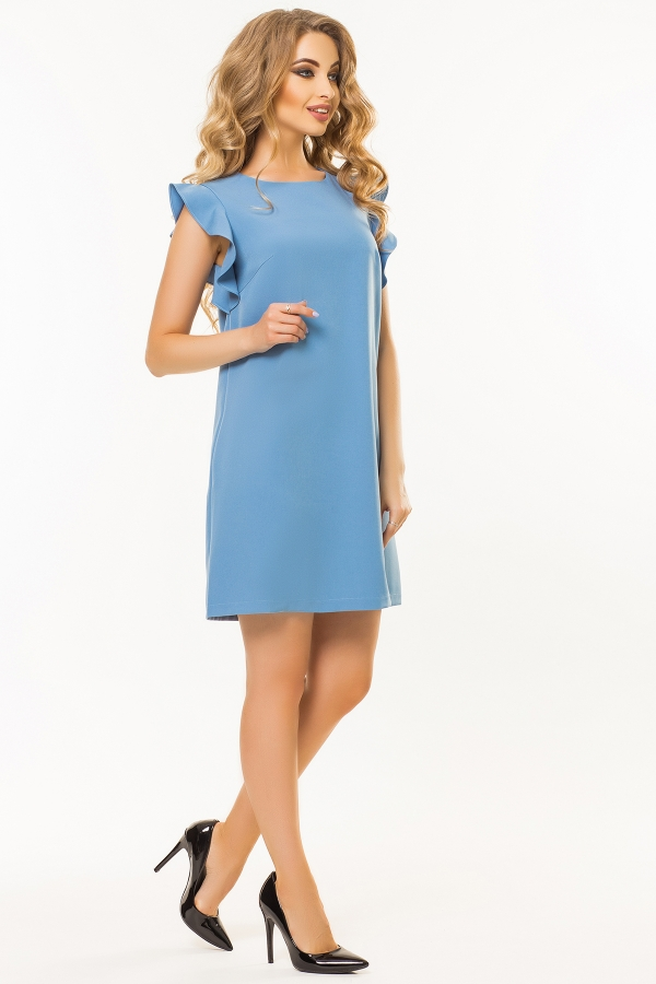 gray-blue-dress-flounces-shoulders-full