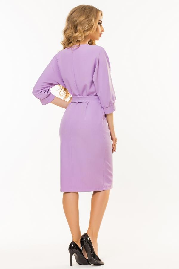 lilac-dress-belt-one-piece-sleeve-back