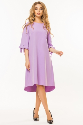 lilac-dress-bows-sleeves