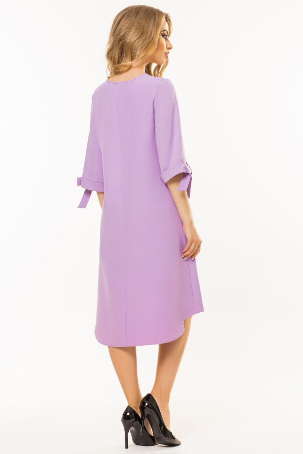 lilac-dress-bows-sleeves-back