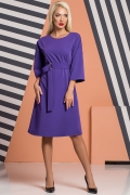 purple-kimono-dress-buckle-belt