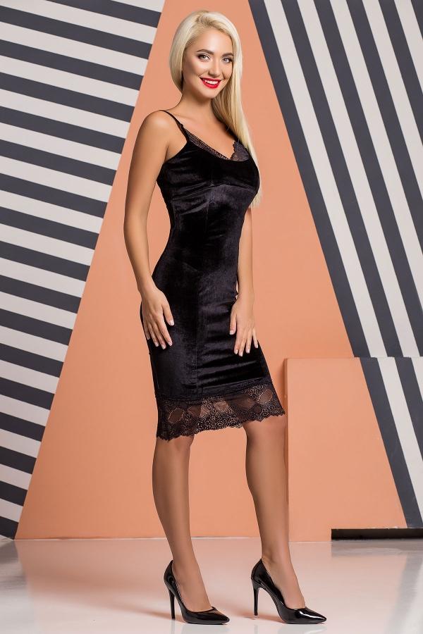 black-velor-dress-lace-half