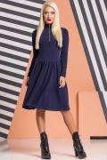 dark-blue-dress-ruffles-gold-zipper