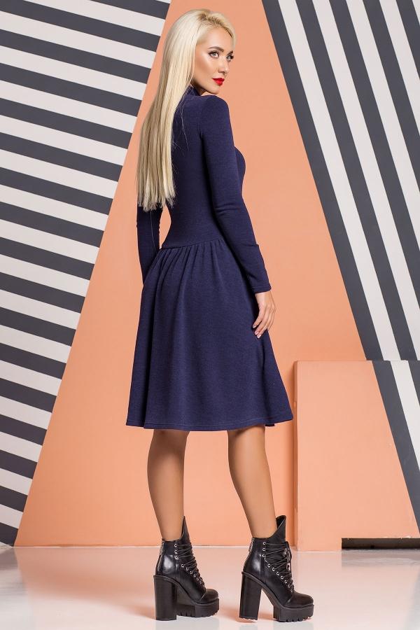 dark-blue-dress-ruffles-gold-zipper-back
