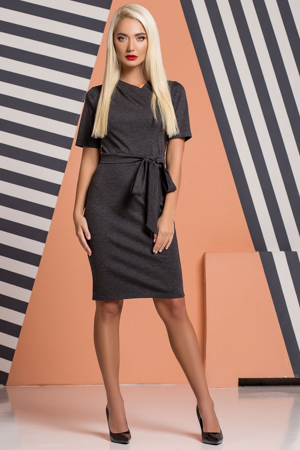 dark-gray-dress-pleat-chest