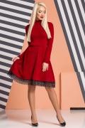 dark-red-dress-under-throat-lace