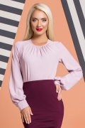 lilac-blouse-pleats-wide-sleeves