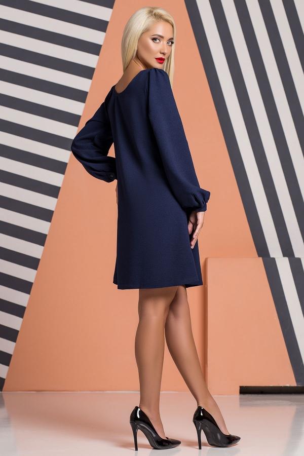 navy-blue-dress-ruffles-back