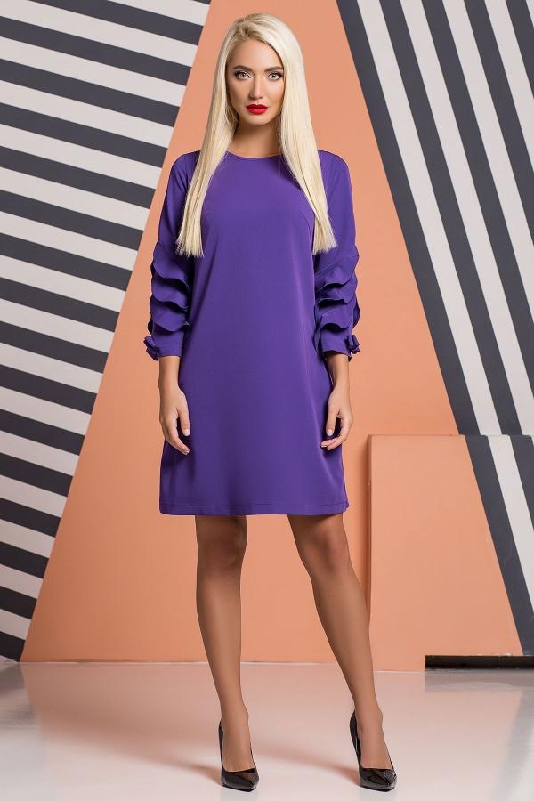 purple-dress-bows-frills