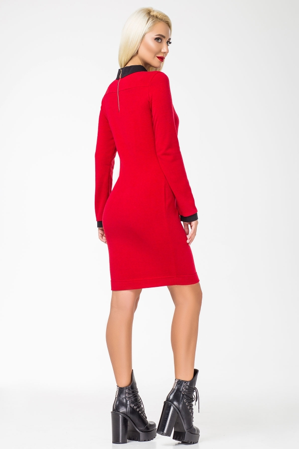 red-dress-black-collar-back2