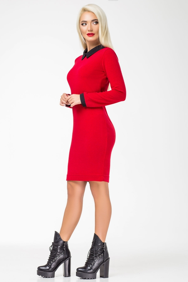 red-dress-black-collar-half2