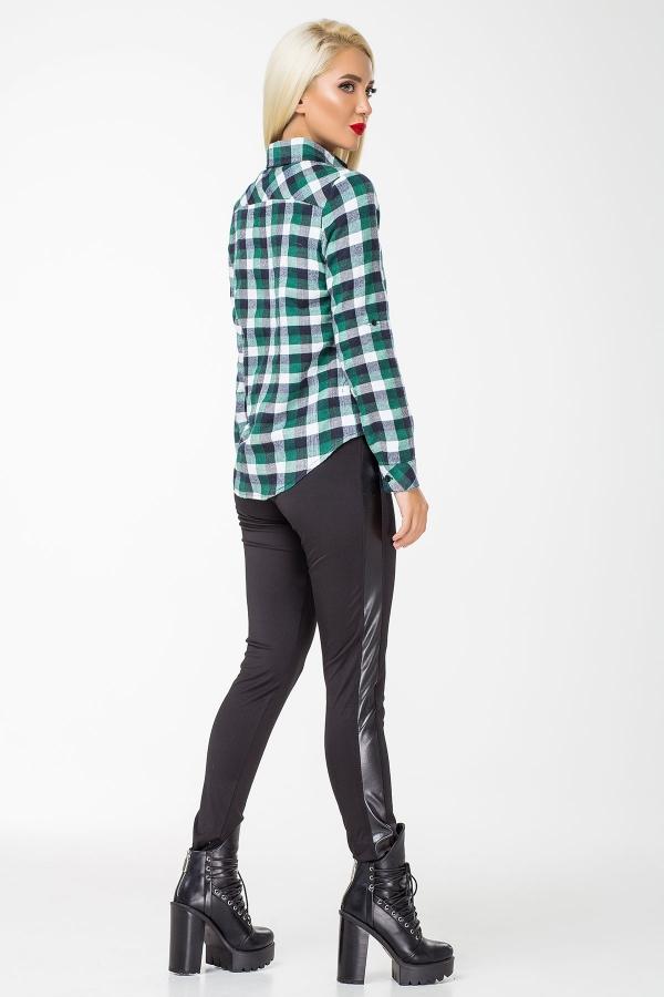 warm-shirt-green-gray-plaid-back