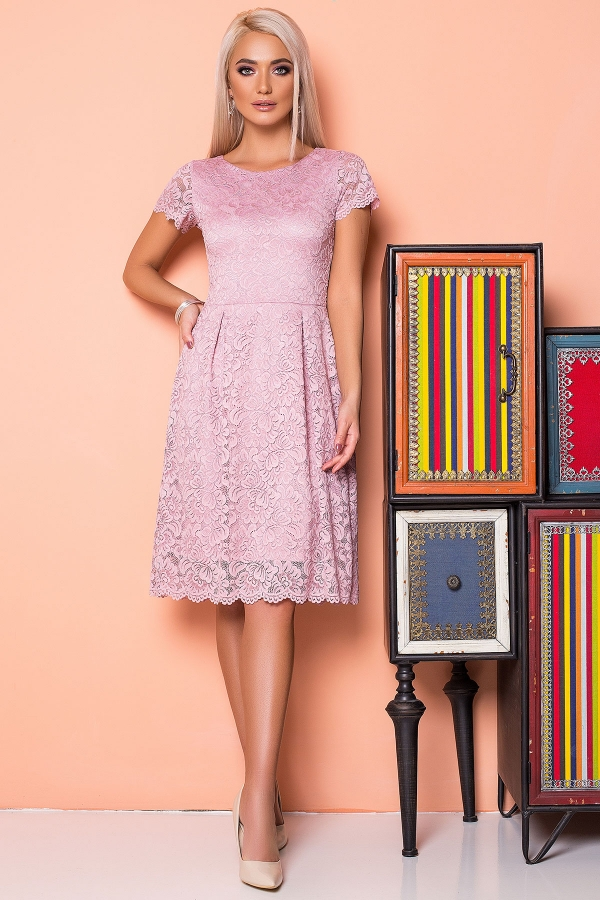 powdery-dress-with-guipure