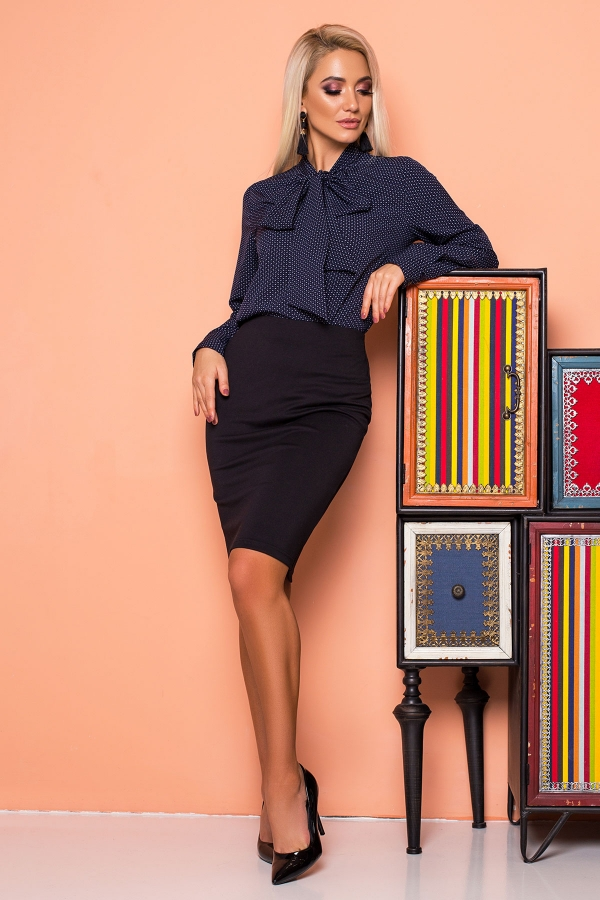 dark-blue-blouse-with-tie-pattern-full2
