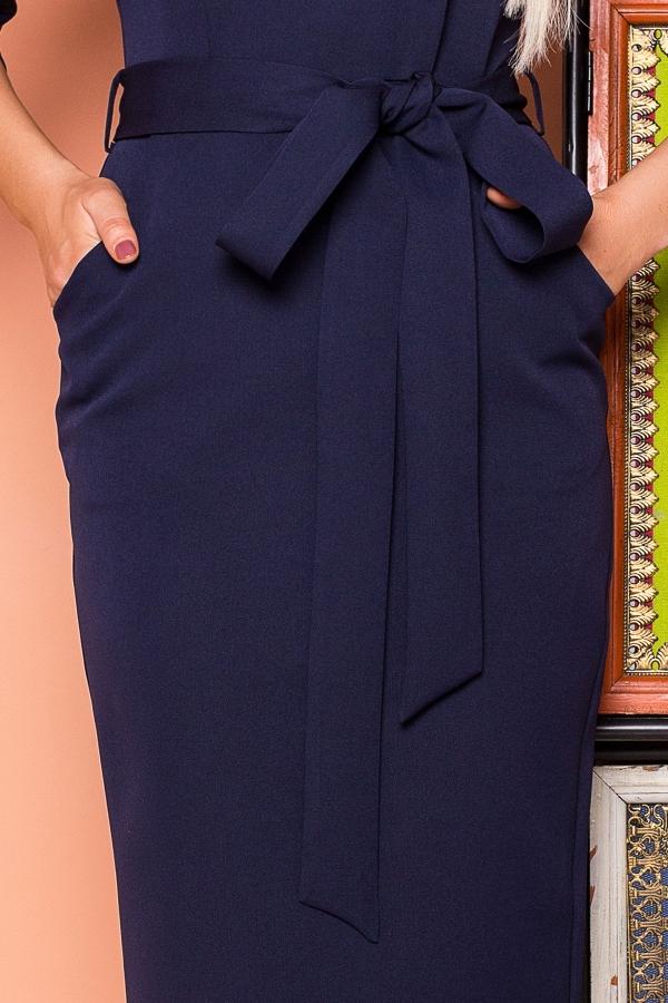 dark-blue-dress-belt-cap-sleeves-detail